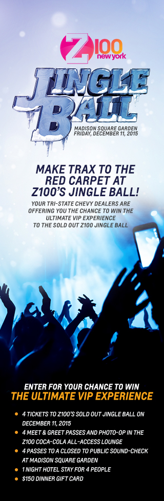 Z100 jingle ball tickets giveaway sweepstakes
